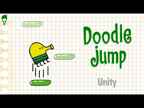 Doodle Jump за 6 МИНУТ на Android   Unity, C#, Game Tutorial