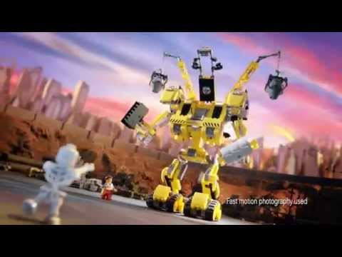 Emmet's Construct-o-Mech 70814 & Benny's Spaceship 70816 - The Lego Movie
