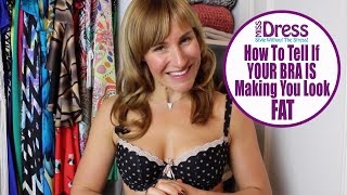 The Bra strap trick to making you look slimmer