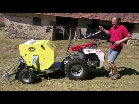 Video Lisy, baličky, vozíky CAEB Horské lisy