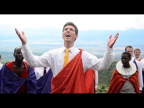 'Baba Yetu' in Africa (The Lord's Prayer in Swahili) Members from BYU Men's Chorus (Christopher Tin)