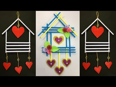 diy-paper-wall-hanging-!!-best-wall-hanging-ideas-!!-simple-wall-hanging-craft-!!-home-decoration