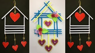 Diy Paper Wall Hanging !! Best Wall Hanging Ideas !! Simple Wall Hanging Craft !! Home Decoration