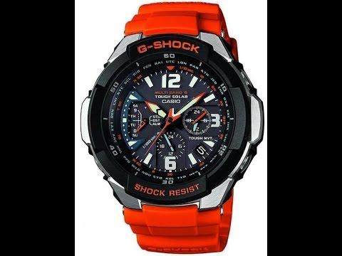 Обзор и настройка часов Casio G-shock GW-3000M-4A [5121]