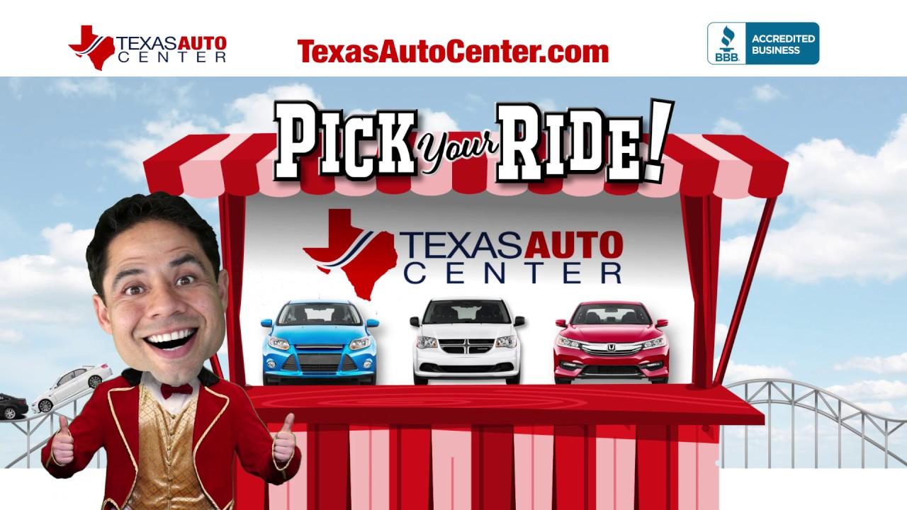 Texas Auto Center >> Car Nival Of Savings At Texas Auto Center