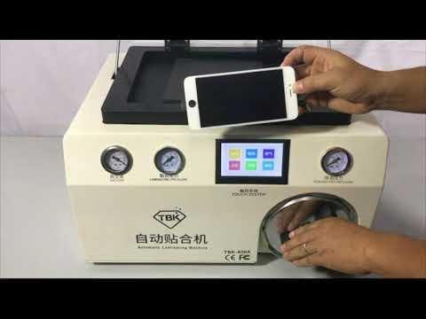 TBK-408A vacuum lcd laminating machine for lcd refurbish
