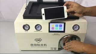 TBK-408A vacuum lcd laminating machine for lcd refurbish oca laminator