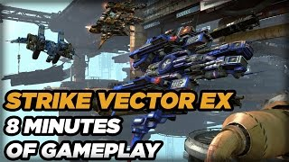 8 Minutes of Strike Vector EX Skirmish Gameplay