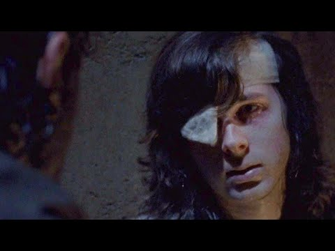 The Walking Dead 8x08  Carl Reveals Bite Mark To Rick & Michonne