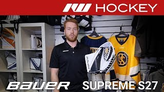 Bauer Supreme S27 Goalie Insight