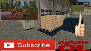 Farming Simulator 17 BiZiMKÖY HARiTASI Palet Üretimi