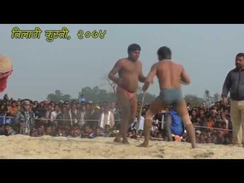 Part 4, Kusti at Tilathi Saptari   KUSTEE 2018   WRESTLING   Dangal Nepal