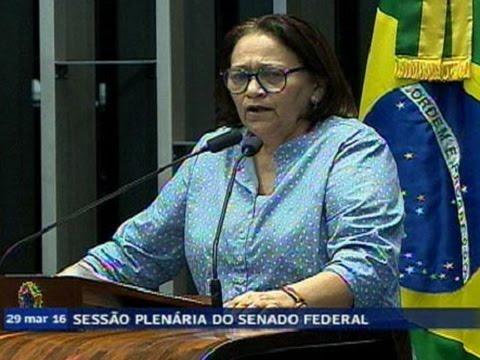Fátima Bezerra Reafirma Sua Convicção De Que Impeachment De Dilma é Golpe