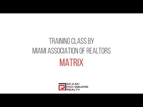 Training Class by Miami Association of Realtors - MATRIX