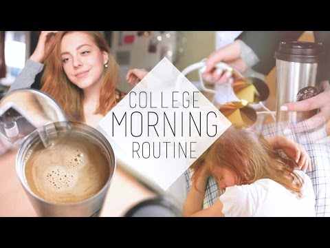 College Morning Routine | chanelegance