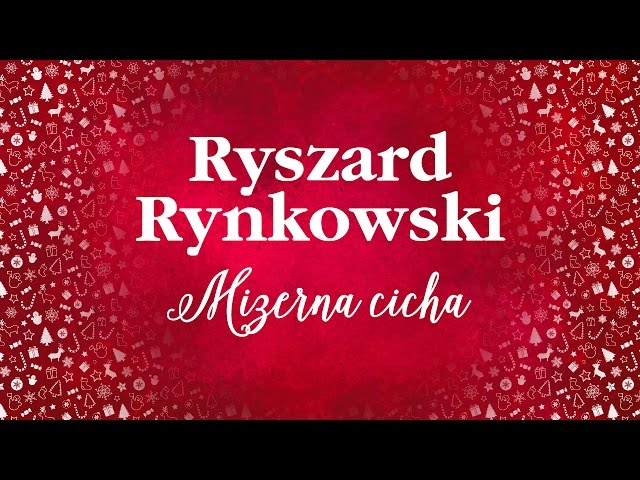 Ryszard Rynkowski - Mizerna cicha