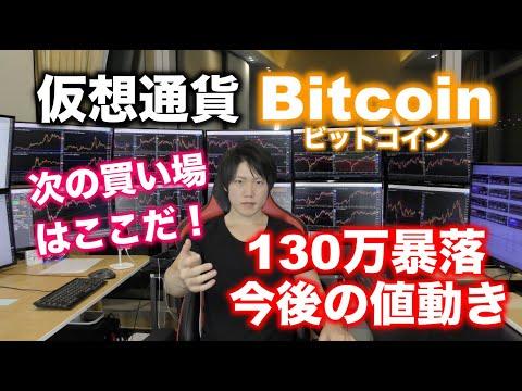 仮想通貨Bitcoin、アルトコイン暴落と今後の値動き、買い時について。 ▶21:20