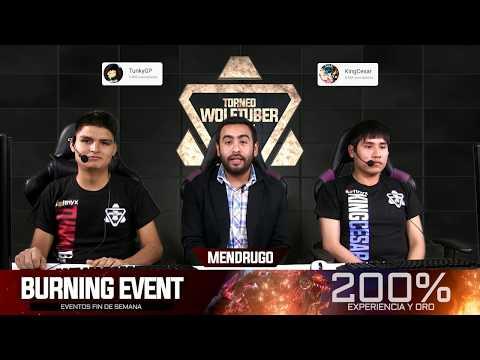 WolfTeam - Final WolfTuber 2018 - TunkyGP VS KingCesar