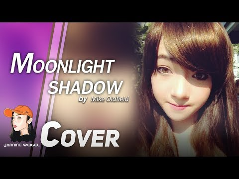 Moonlight Shadow - Mike Oldfield cover by 12 y/o Jannine Weigel