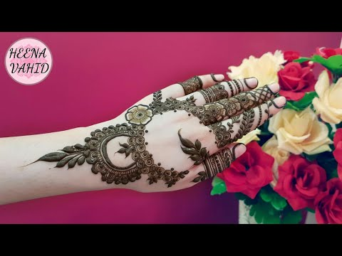 Hv Creations Of Henna Design 7 Heena Vahid Youtube