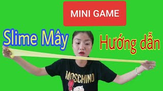 Hướng Dẫn Làm Slime Mây Từ Bộ Kit Mini Game | Như Quỳnh Kids