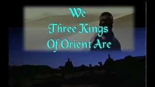 """We Three Kings of Orient Are"" with Lyrics 圣诞歌曲(英文) Christmas Carol"