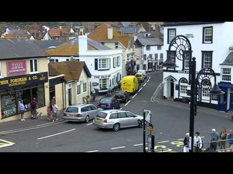 Town Centre And Shops, Broad Street, Lyme Regis, Dorset.