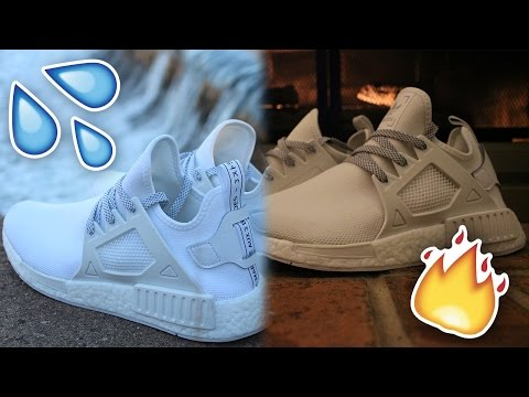 How to Clean ALL WHITE ADIDAS NMD'S (FREE!)