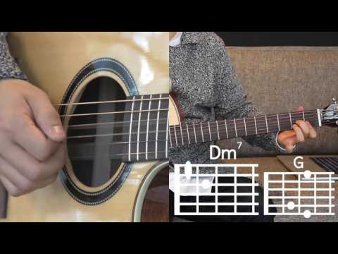 [Awesome Guitar] D (half moon) by Dean  Guitar Lesson level ★ ☆ ☆ ☆ ☆