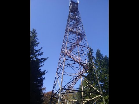 SCARY OLSON TOWER IN TUCKER COUNTY WV