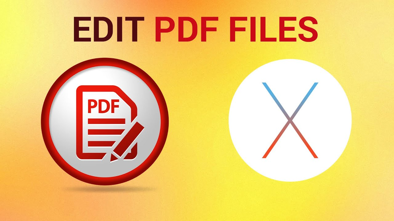 program to edit pdf on mac
