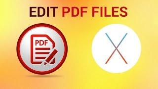 How Edit Pdf Mac