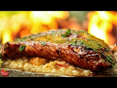 Risotto that will BLOW your Mind + Turkey Steak! - Cooked in the Forest