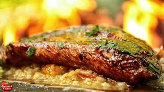 risotto that will blow your mind turkey steak cooked in the forest