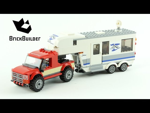 LEGO CITY 60182 Pickup & Caravan Speed Build for Collectors - Collection Great Vehicles (45/48)