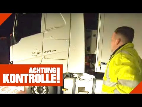 Sorge um LKW-Fahrer: Ist der Mann im LKW erfroren? Polizei ermittelt! | Achtung Kontrolle
