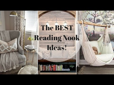The BEST Reading Nook Ideas!