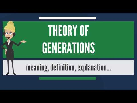 What is THEORY OF GENERATIONS? What does THEORY OF GENERATIONS mean?