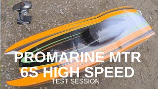 Promarine MTR Catamaran 6S High Speed Session