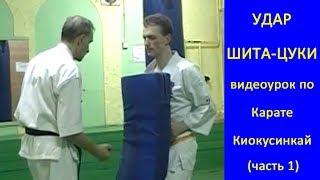 УРОКИ Каратэ Киокушинкай - Удар Шита-цуки урок № (часть 1)