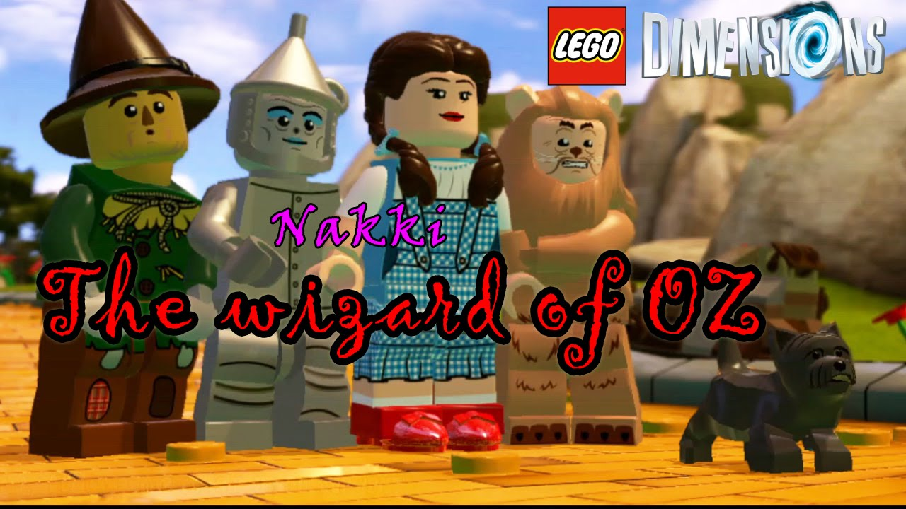 Lego Dimensions Wizard of OZ 2 player free roam (NKGW) - YouTube