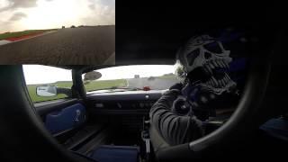 VX220 SC Snetterton 22nd September 2014 spin at hamilton