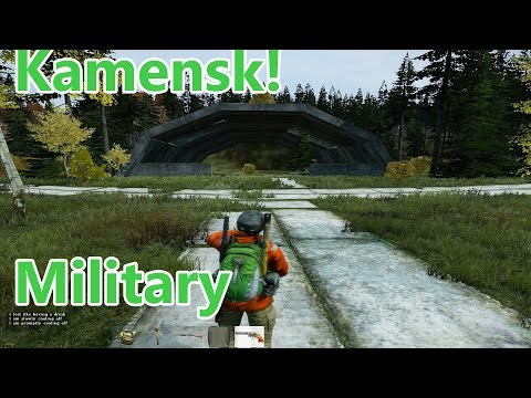 NEW MILITARY BASE DAYZ! (KAMENSK) and .50 ITEMS!