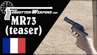 Back-Up Gun Match Teaser with an MR-73
