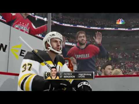NHL® 18 Boston Bruins vs Washington Capitals