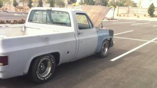 "1978 chevrolet c/10 496 stroker, full manual 4l80e, magnaflow 3"" 18"" bodies, cc 300hr"