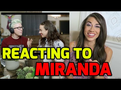 REACTING TO MIRANDA VIDEOS! (Part 2)