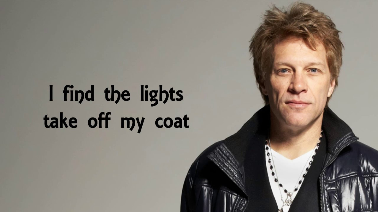 Bon Jovi  Scars On This Guitar Song + Lyrics Chords
