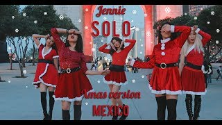 [KPOP IN PUBLIC - XMAS VER] Jennie - 'SOLO' DANCE COVER by TaggMe Kpop Crew From Mexico