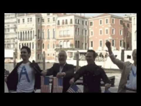 Flash mob for Obama in Venice, Italy